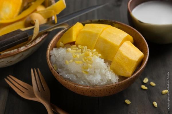 Le riz au lait Thaï : le mango sticky rice