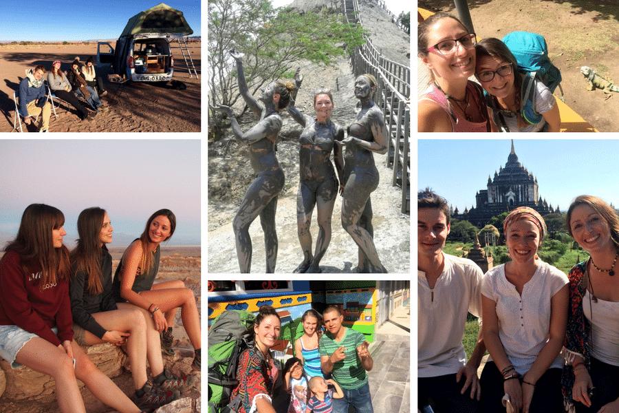 Mes 5 astuces pour se faire des amis quand on voyage en solo