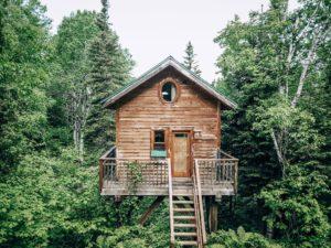 dormir dans une cabane au quebec