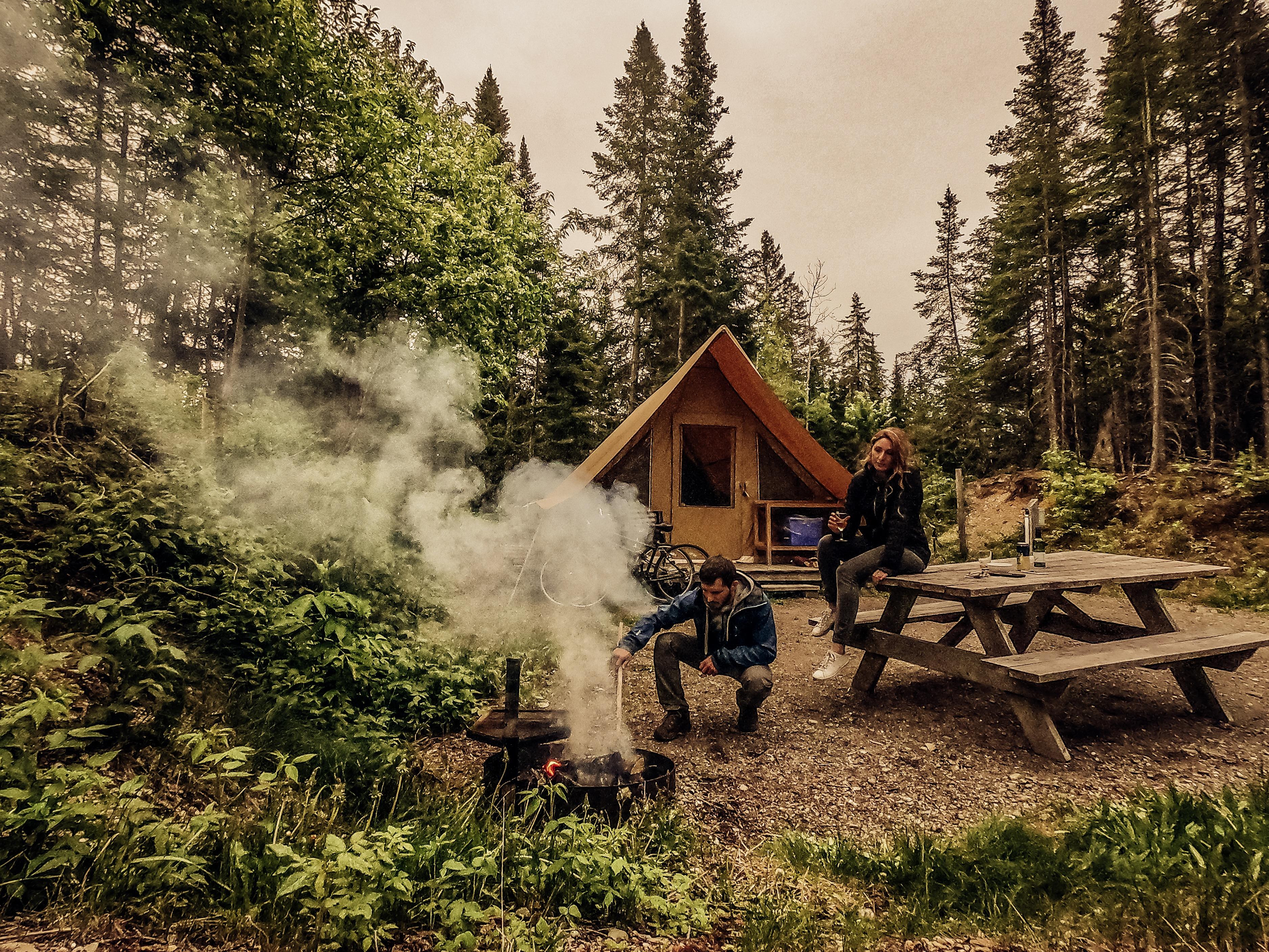 camping au quebec