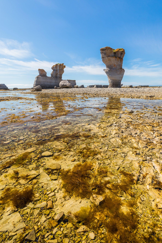 monolithes de pierre archipel de mingan
