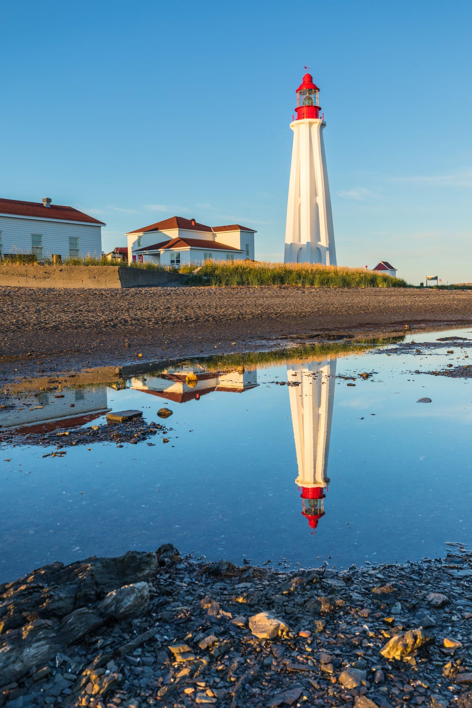 deuxième plus grand phare du Canada, le phare de Pointe-au-Père, incontournable d'Étienne au Québec