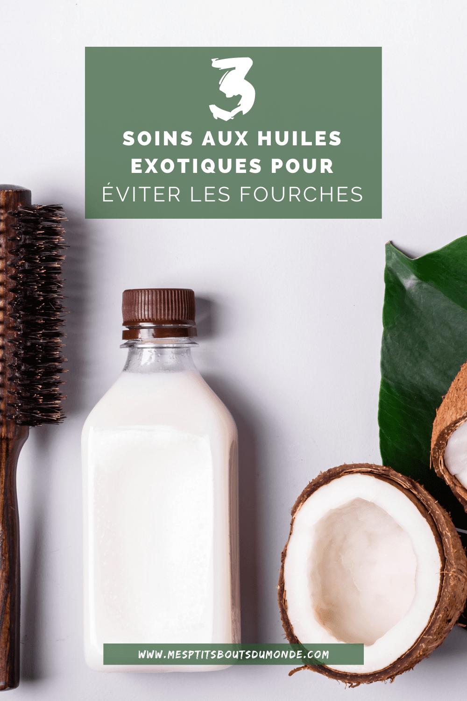 3 soins aux huiles exotiques pour éviter les fourches