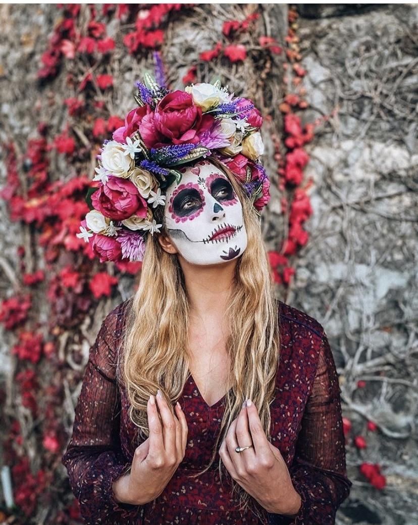 catrina dia de los muertos au Mexique