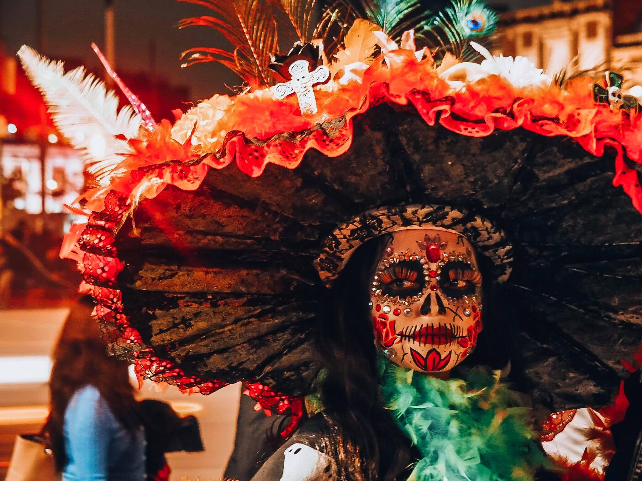 la catrina dia de los muertos au mexique
