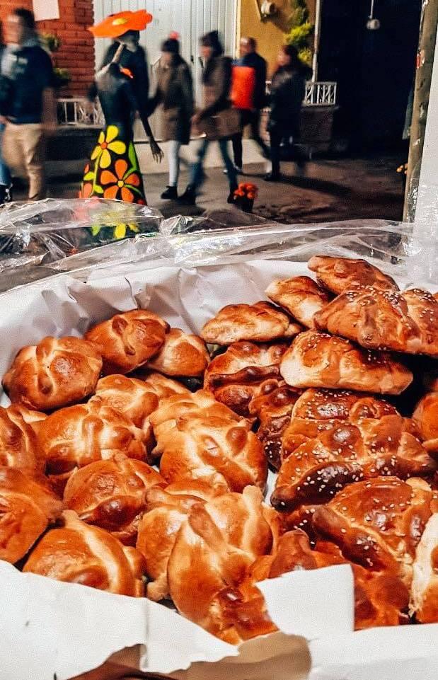 pan de muertos dia de los muertos au mexique