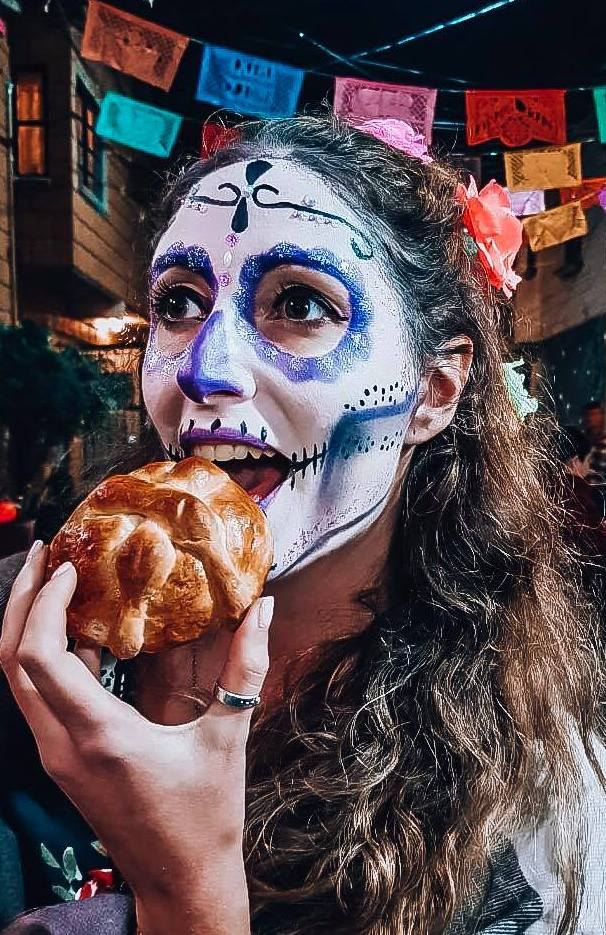 pan de muertos dia de los muertos mexique