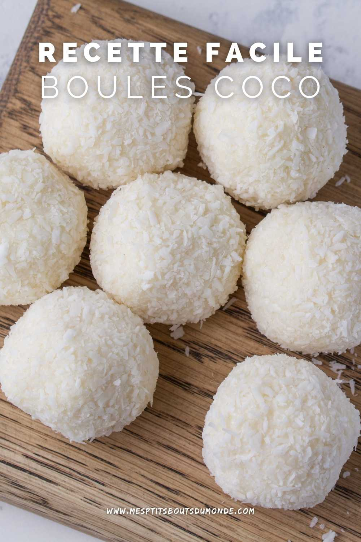 boules de neige coco recette
