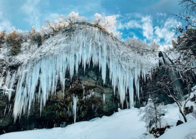 15 balades sous la neige en Auvergne