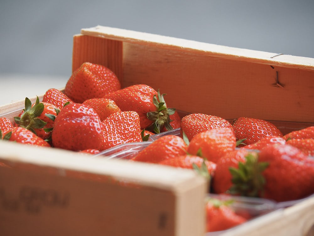 marche perigueux fraises
