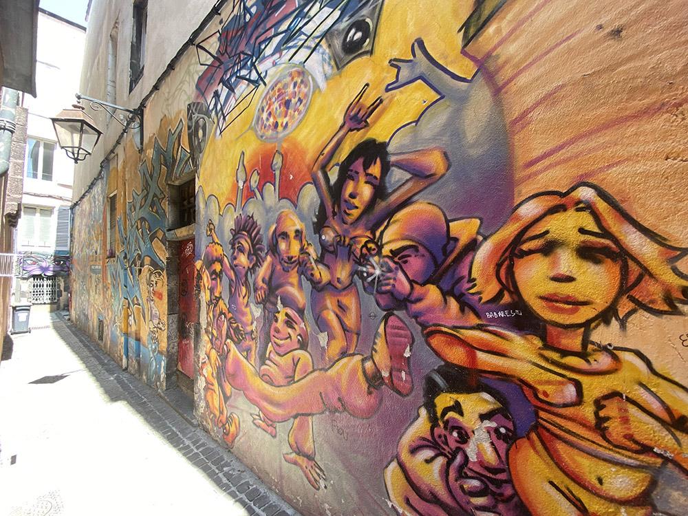 fresque gaffiti clermont ferrand