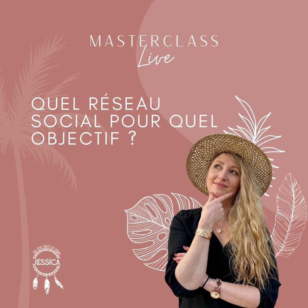 masterclass live reseaux