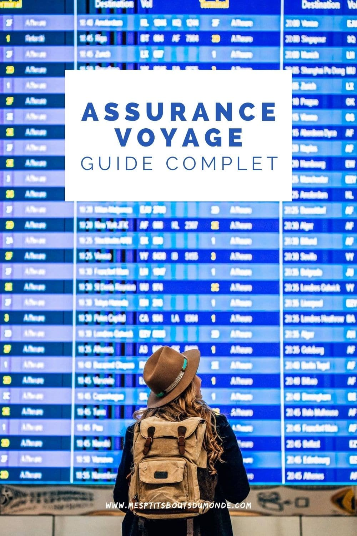 quelle assurance voyage choisir